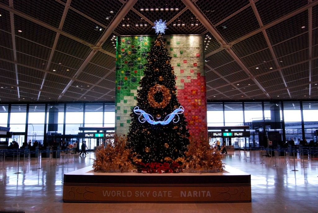 成田空港ロビー