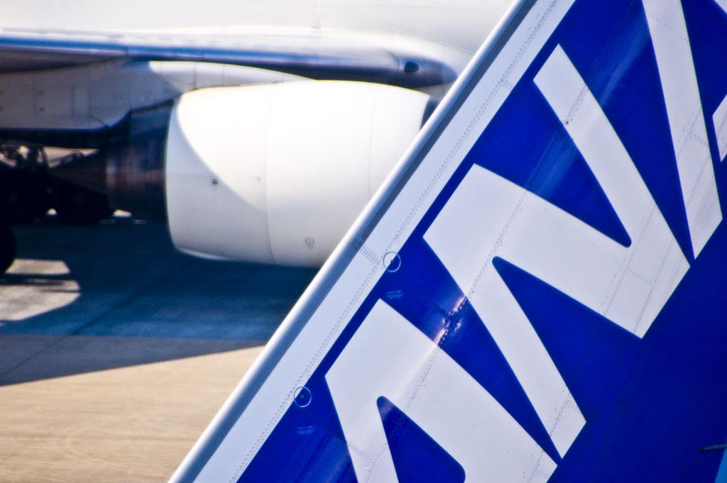 ANA 機体 ロゴ
