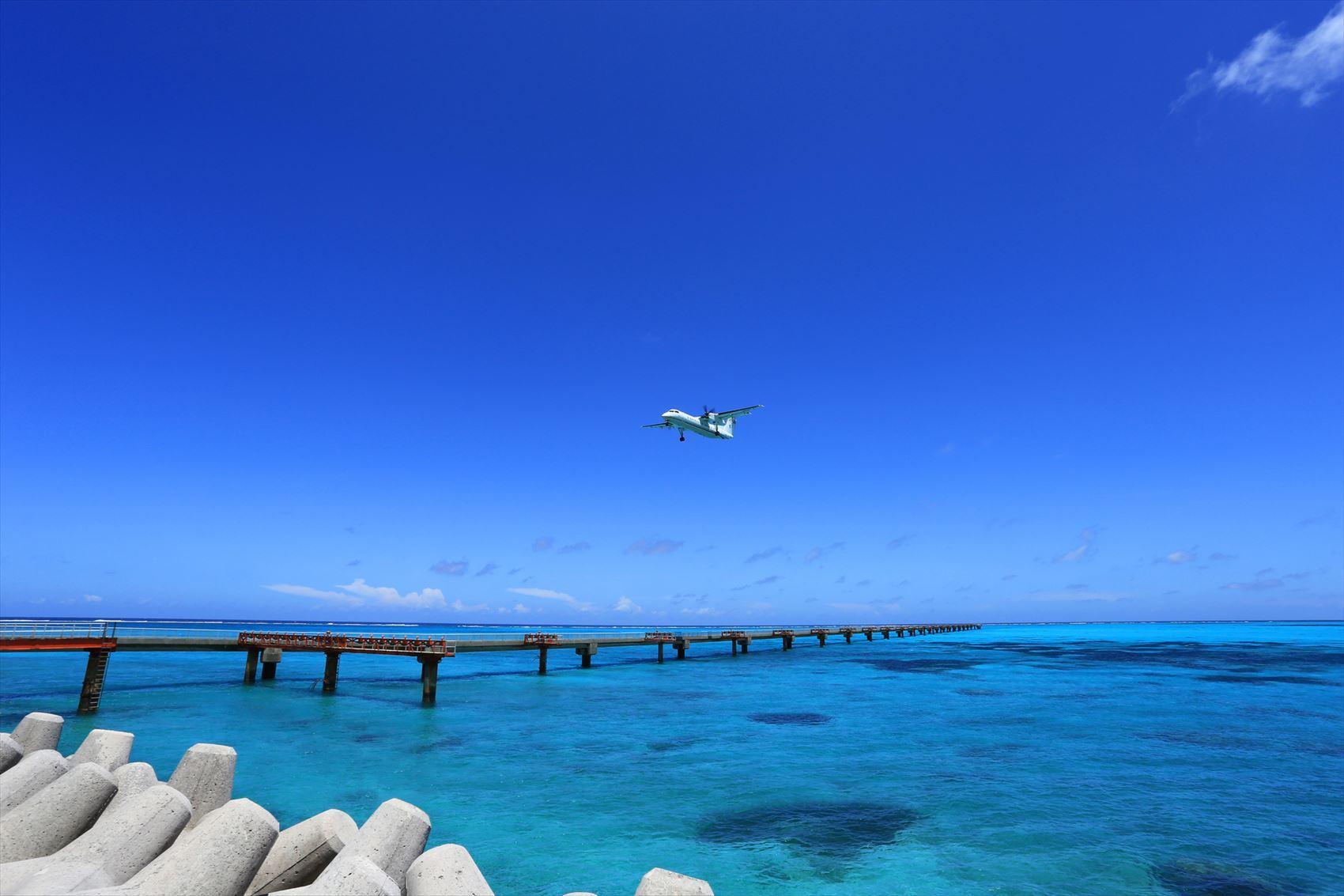 海と飛行機