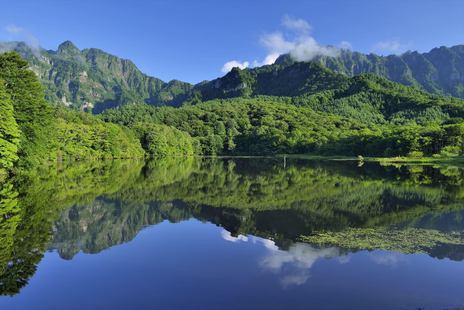 長野県の鏡池
