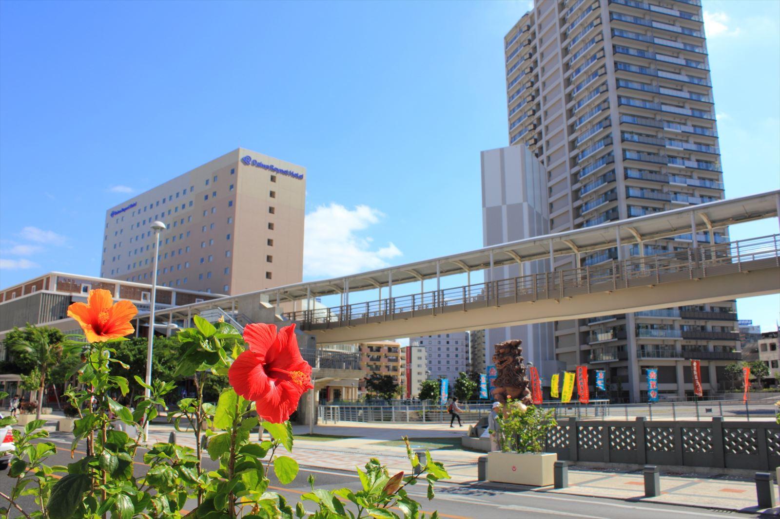 沖縄空港前