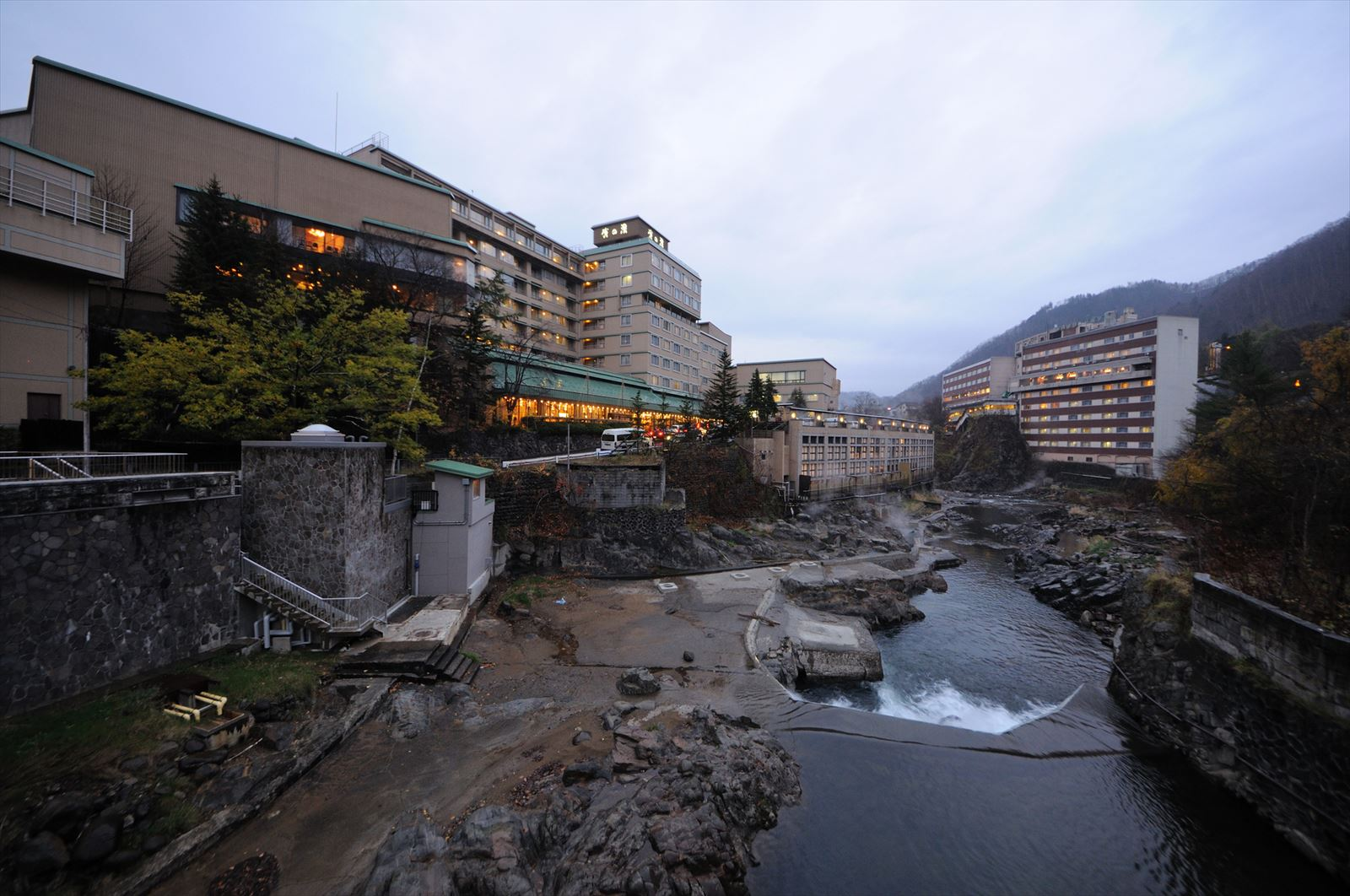 定山渓温泉