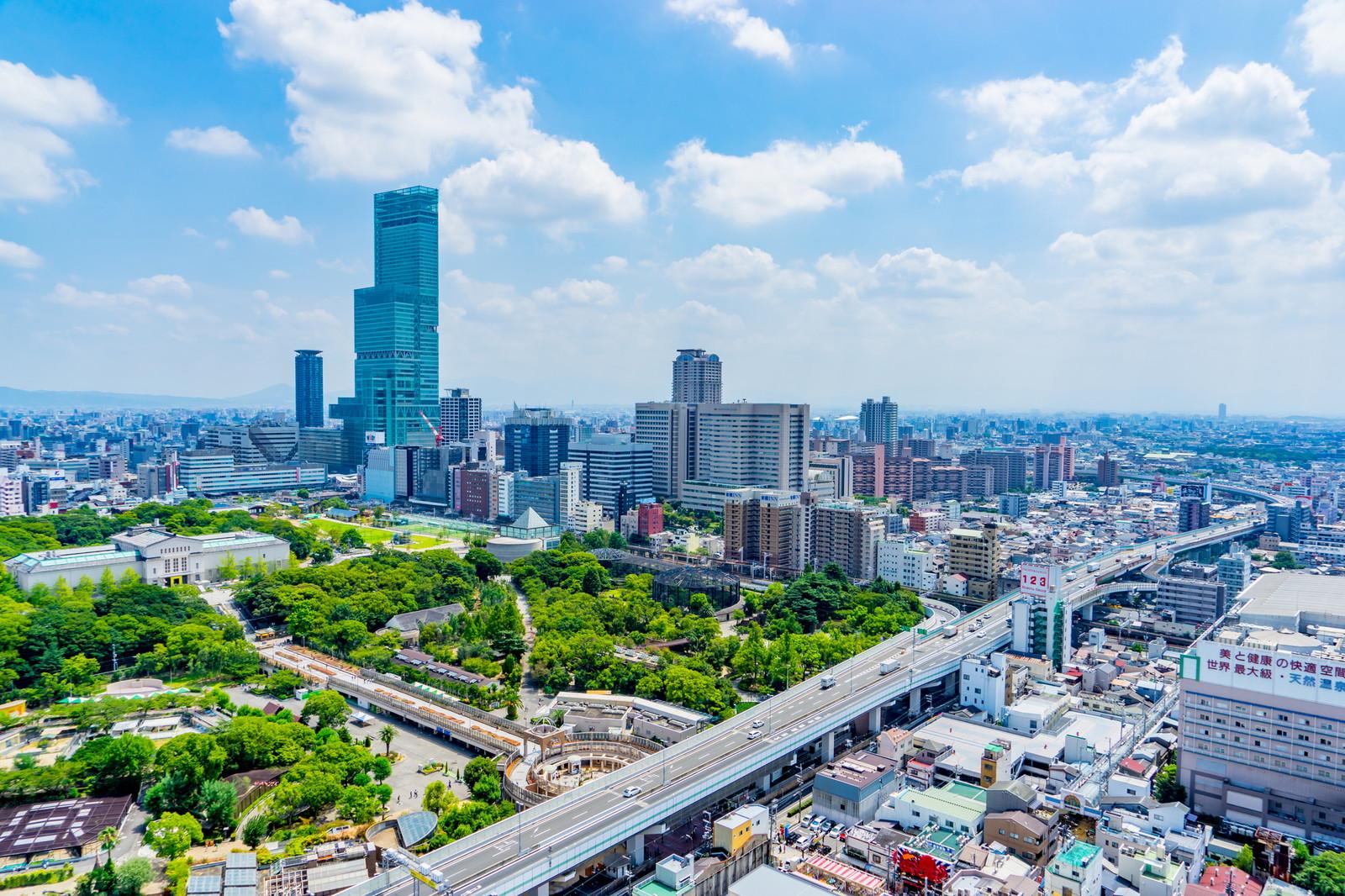 大阪の町並み