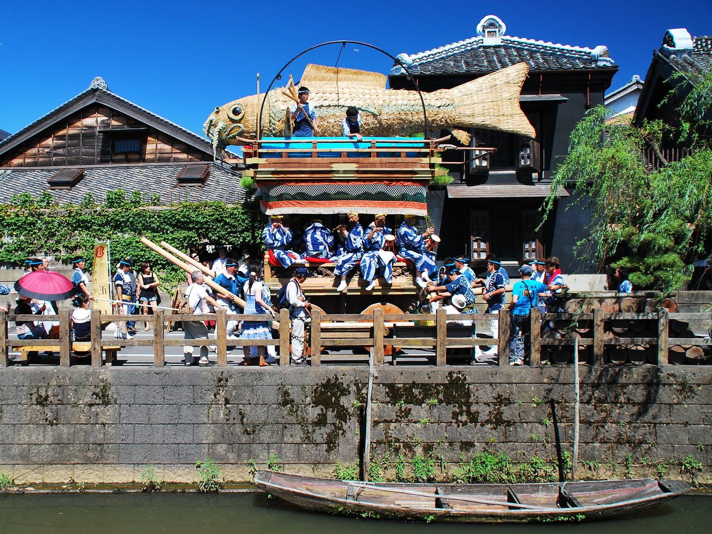 佐原の大祭 夏祭り(千葉県)