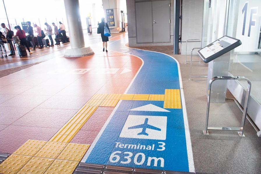 成田空港第三ターミナル道順6