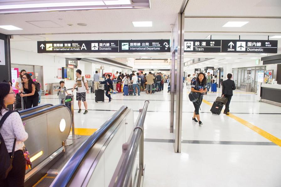 成田空港第二ターミナル道順6