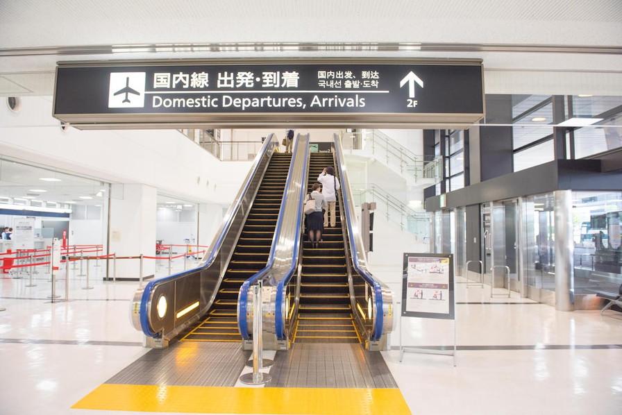 成田空港第二ターミナル道順10