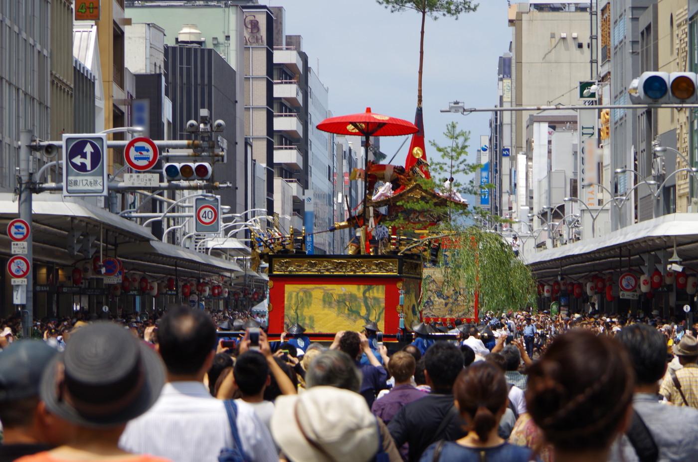 京都祇園祭の風景