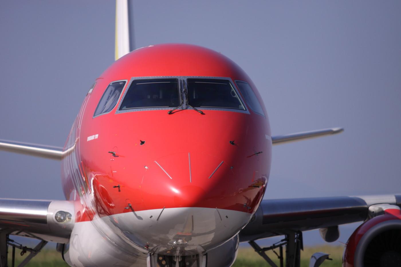 フジドリームエアラインズの機体の画像