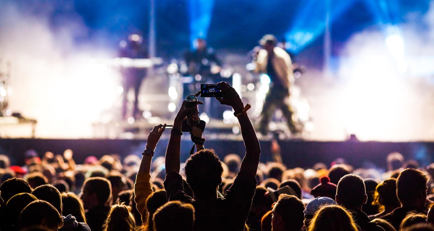 音楽フェスティバルの画像