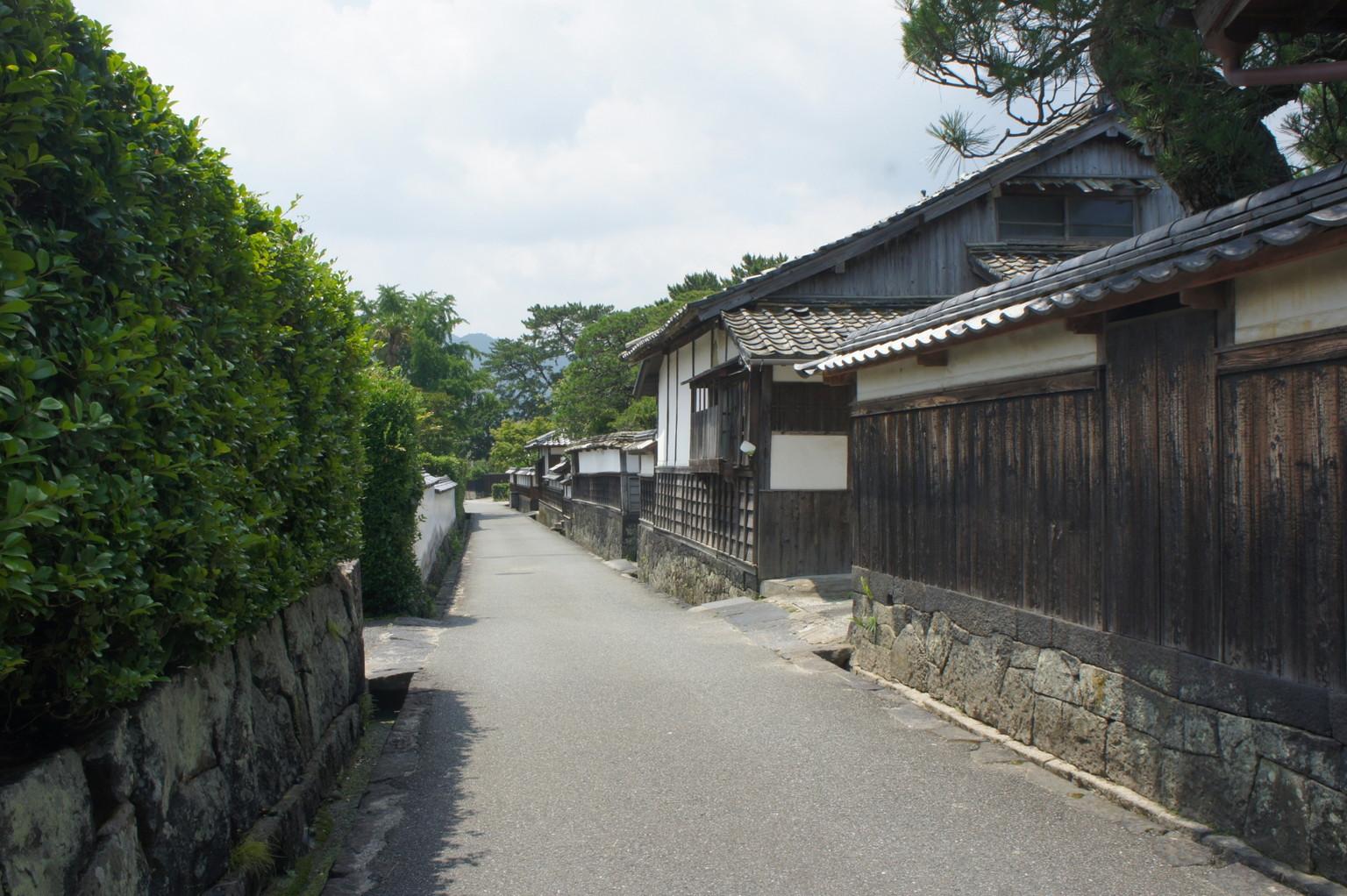 萩の城下町