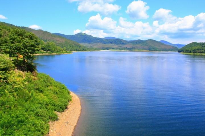 かなやま湖(金山ダム)