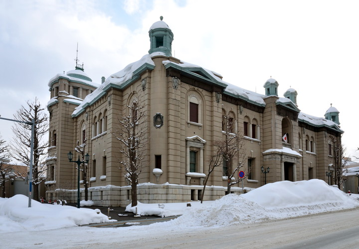 日本銀行旧小樽支店「金融資料館」