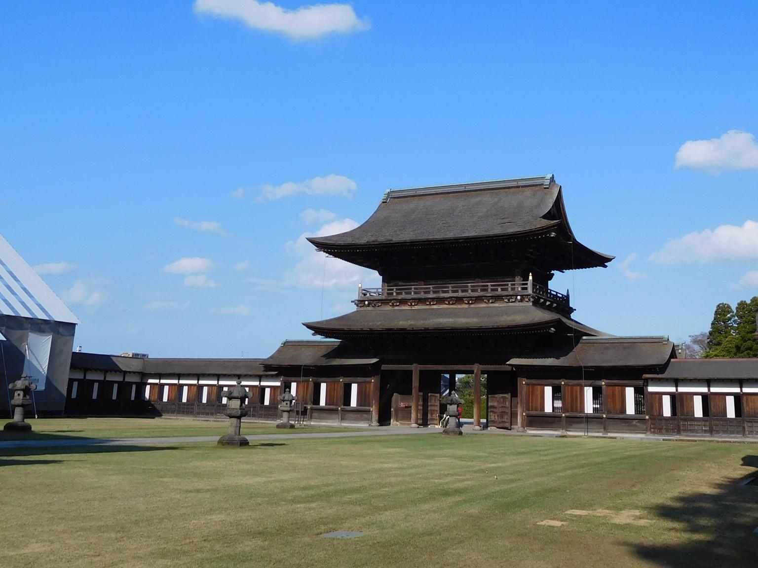 国宝高岡山 瑞龍寺