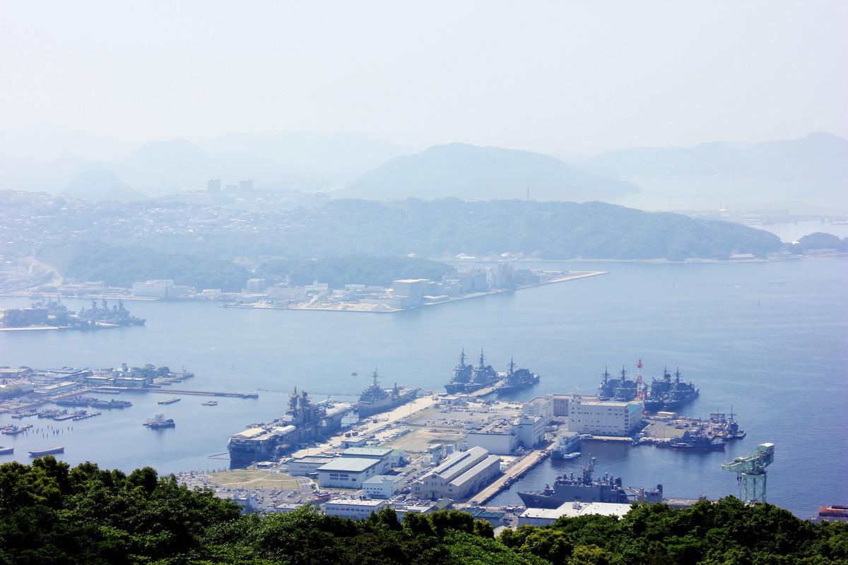 佐世保の軍港