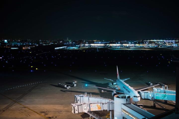 羽田空港夜景6
