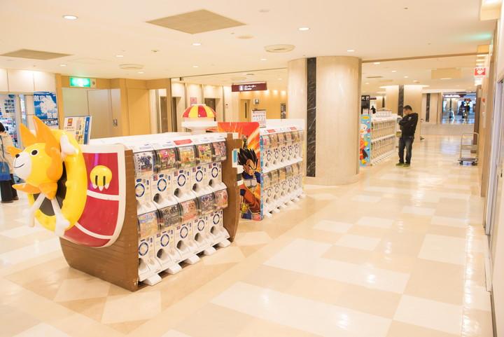 成田空港ガチャガチャ3