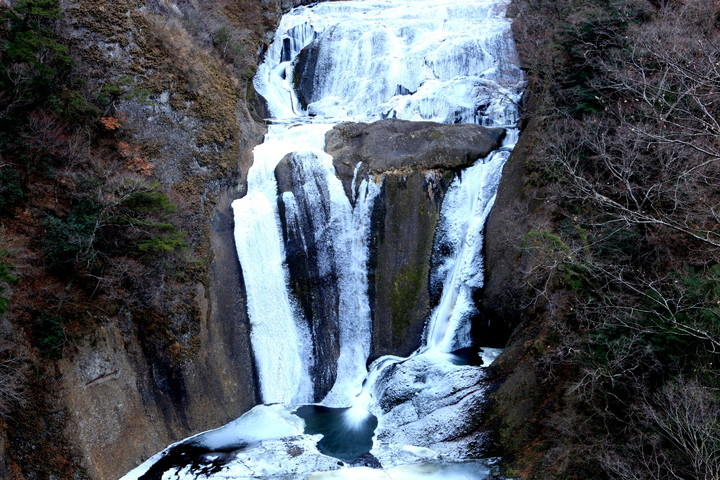 袋田の滝の氷瀑