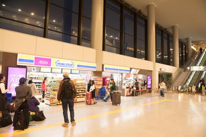 成田空港第1旅客ターミナルコンビニ3