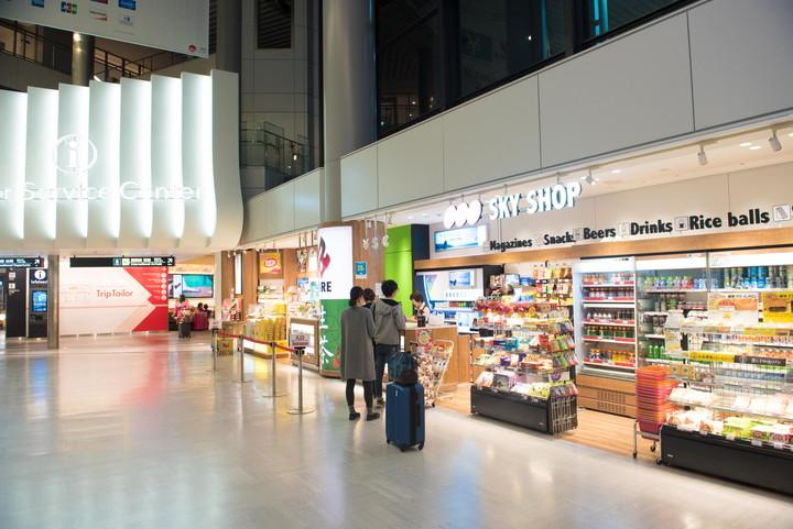 成田空港第1旅客ターミナルコンビニ4